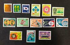 South Korea #595-608 1968 MH