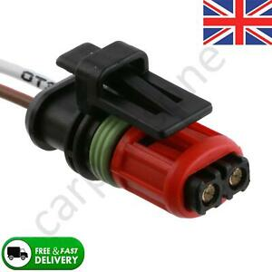2 Pin Pre-Wired Connector Fuel Injector System Fits Renault Trafic Vauxhall