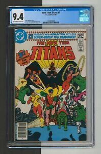 New Teen Titans #1, CGC 9.4, NM, Multiple 1st Appearances, 1980, DC comics