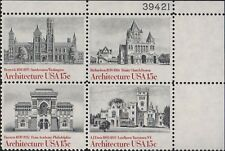 1 #1838-41 .15 AMERICAN ARCHITECTURE PB OF 4. BIN $1.50.