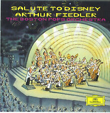 Salute To Disney - Arthur Fiedler & Boston Pops (CD, Crc , Dg) Mary Poppins