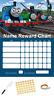 Thomas Personalised Reward Behaviour Chart Free Pen,Stickers, Adhesive Pads