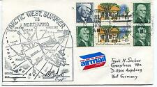 1978 USCGC Northwind WAGB-282 Arctic West Summer Polar Cover SIGNED
