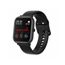 P20 Health Monitor 1.4-inch HD Full Touch Screen Smart Watch,black