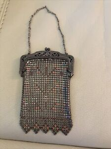 VINTAGE VICTORIAN STYLE CHAIN MAIL/MESH COIN PURSE