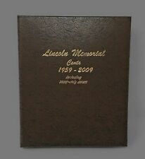 Dansco US Memorial Cent Coin Album 1958 - 2009 with Proof #8102