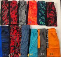 Boy's Youth Under Armour Heat Gear UPF 30 Athletic Shorts