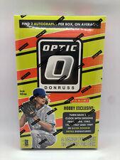 2016 Panini Donruss Optic Baseball Hobby Box Sealed (Mike Trout) FREE U.S SHIP