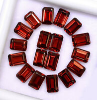 Details about  /Natural Rani Chalcedony 6X8 mm Octagon Faceted Cut Loose Gemstone AB01