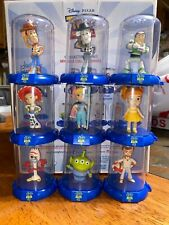 Domez Disney Pixar Toy Story 4 - COMPLETE SET OF 9 with RARE B/W CHASE WOODY