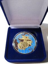 US MARINES CORPS Commemorative Challenge Coin w/ Gift Box