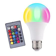 E27 RGB Bulb Remote Color LED Light Bulb Color Changing Light Bulbs 10W RGB