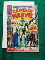 Marvel Superheroes #12 First App Captain Marvel Origin Mar-Vell VG/F Cond