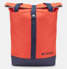 Columbia Urban Lifestyle Backpack Convertible Tote Bag Orange Color Unisex