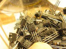 LOT of 16 PNP 2N3906 gen purpose NOS transistors each tested   FREE SHIP USA/CA