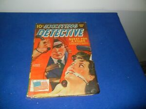 VINTAGE PULP MAGAZINE - EXCITING DETECTIVE-1943-SEE PICTURES