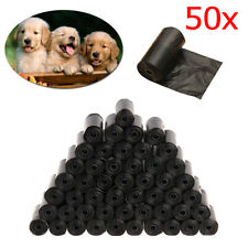 300/750x Biodegradable Dog Poo Bag Pet Cat Waste Poop Clean Pick Up Garbage Bags