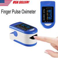 Finger Tip Pulse Oximeter Monitor Saturation Blood Oxygen Meter SpO2 Heart Rate