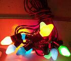 Vintage Paramount 14 Light Christmas Tree Light String  Lighting Outfit  Works