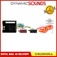 CT20VX01 Car Stereo Radio Wiring Harness ISO Loom For Vauxhall