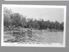pk34366:Real Photo Postcard-Glen Allan Park,Crowe Lake,Marmora,Ontario,Canada