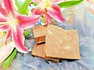 Luxury Handmade Natural Palm-Free Solid Shampoo Rhassoul Clay,Hemp,Avocado,Shea