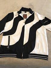 Air Jordan Collection Windbreaker Jacket Men's XL Black 2005 Full Zip Logo Retro