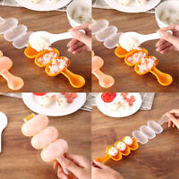 DIY Mini Rice Ball Making Mold Vegetable Roll Mould Meat Sushi Kitchen Gadget