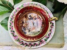 Antica Tazzina Porcellana Capodimonte