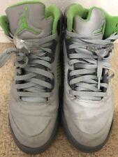Air Jordan 5 Green Bean Flint Grey 136027-031 Size 10