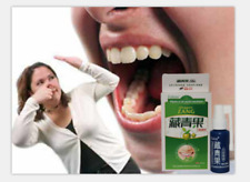 BACTERIOSTATIC ORAL SPRAY STOP SMELLY BAD BREATH STENCH GET FRESH CLEAN MOUTH