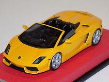 1/43 Looksmart Lamborghini Gallardo LP 560-4 Spider 2009 Yellow Midas Leatther