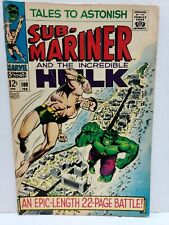 Tales to Astonish #100   Hulk vs Namor   Stan Lee   Marvel 1968