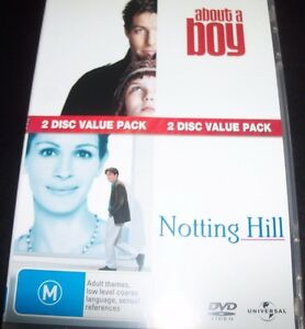 About A Boy / Notting Hill (Hugh Grant) - 2 DVD (Aust Region 4) DVD – Like New