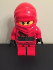 Lego Red Ninjago Clock With 2 In 1 Story Book, And Nintendo DS Game.