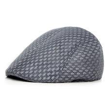 Soft Mesh Men's Boy's Cabbie Ivy Driving Flat Cap Newsboy Golf Beret Irish Hats