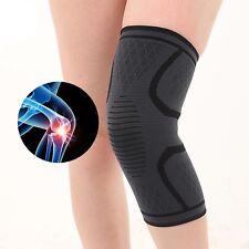 2 pares de calefacción Ortopedica Soporte rodilla magnética Turmalina Esguince Artritis M