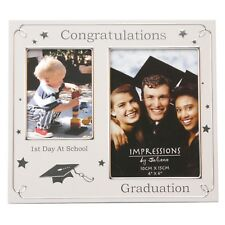 1st Day at School - Graduation Photo Frame With Stars FA505