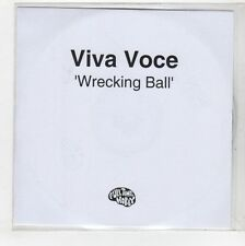 (GS506) Viva Voce, Wrecking Ball - DJ CD