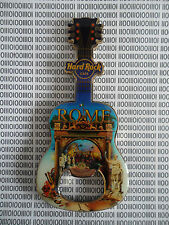 Hard Rock Cafe Rome - City Icon Colosseum - HRC Logo Guitar Magnet Bottle Opener