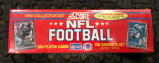 1990 Score NFL Football Factory Sealed Complete Set Series 1 & 2 665 Cards
