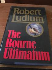 The Bourne Ultimatum by Robert Ludlum (1990, HC) 1st Edition