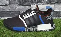 Adidas Originals NMD R1 Men's Trainers Running Shoes Black 8,5 9 White FV5215