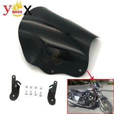 ABS Windscreen Windshield W/ Bracket For Yamaha VMAX VMAX1200 V-MAX1200 VMAX1200