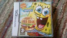 Nintendo DS Spongebob Schwammkopf Frantic frycook (mit Box)
