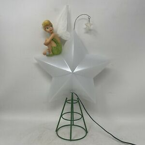 Disney Tinkerbell Light-Up Christmas Tree Topper