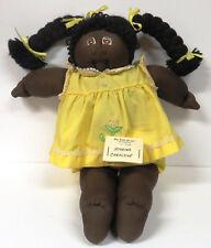 African American Doll Xavier Roberts' Little People Soft Sculpture 1981 VTG MINT