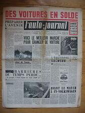 L'AUTO JOURNAL 140 DU 15 12 1955 SALMSON 2300 SALON DES JOUETS  MOTOBECANE Z24C