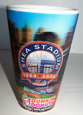 NY Mets Shea Stadium 3-D Dunkin Donuts concession cup from the the last season