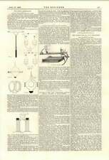 1894 Electric Discharge  Gases Ether Saturator Lantern  Steamer La Marguerite